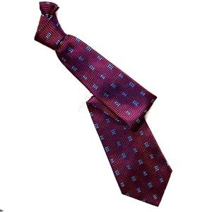 TURNBULL & ASSER UK Silk Necktie